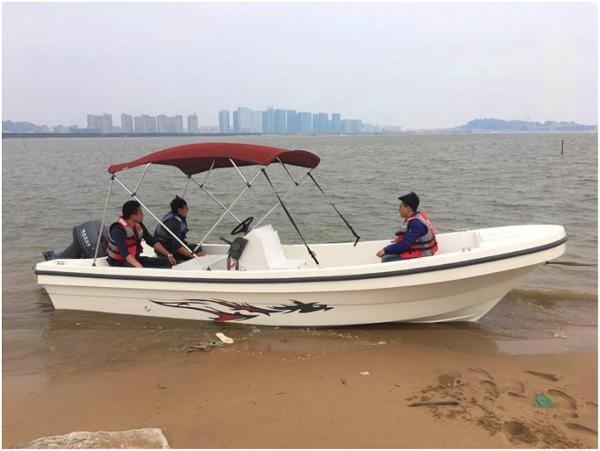 New Cruiser Yachts 18D fishing-working