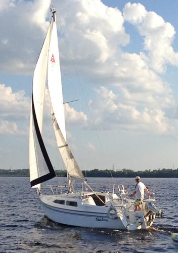 Catalina 250 Starboard Tack