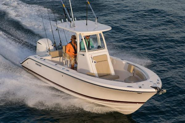 Pursuit C 238 Center Console Manufacturer Provided Image