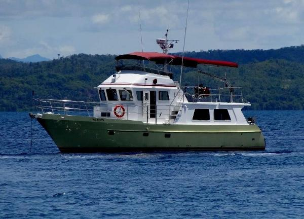 Seahorse 52' Luxury Expedition Trawler