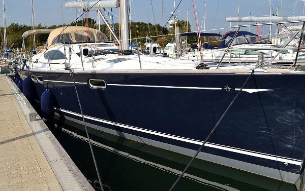 Jeanneau Sun Odyssey 54ds Jeanneau Sun Odyssey 54DS - MISTY BLUE