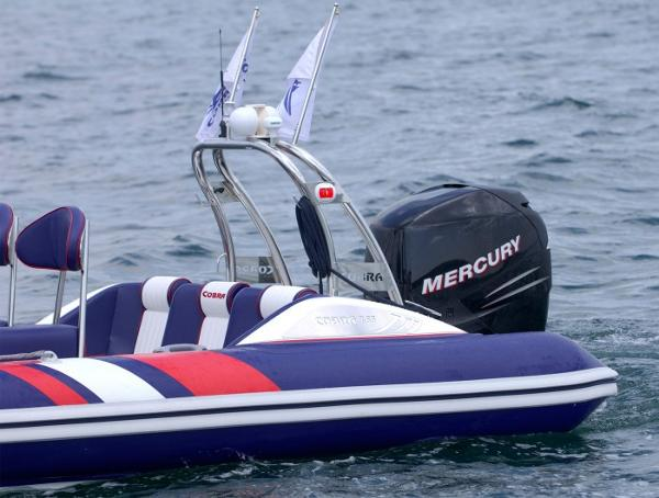 Cobra Ribs Nautique 7.6m Engine