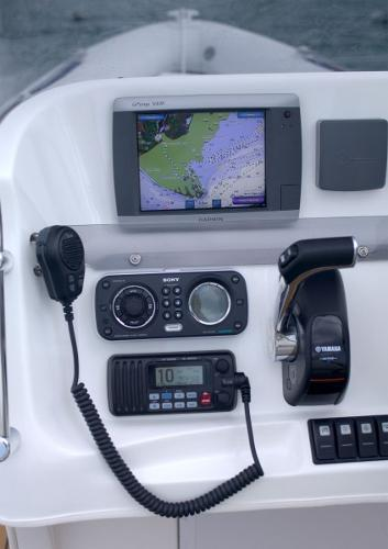 Cobra Ribs Nautique 7.6m Navigation Equipment
