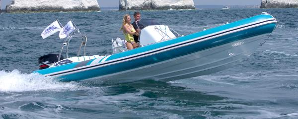 Cobra Ribs Nautique 7.6m Side View