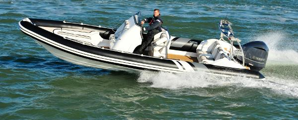 Cobra Ribs Nautique 8.0m Side View