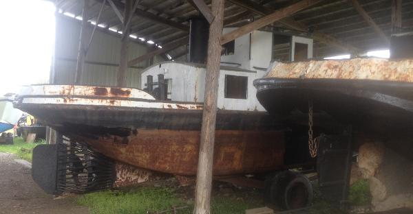 Commercial 35' Russel Bros Alligator Boat