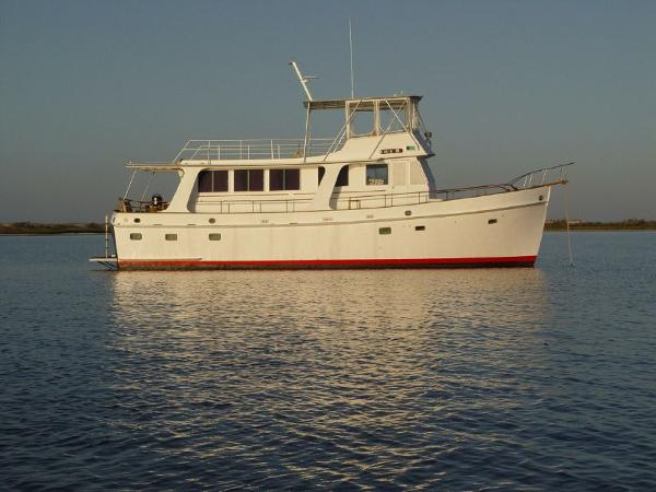 Grand Banks 50 Europa Profile_Stbd_