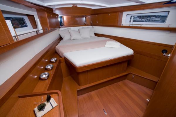 V-Berth Master Cabin with Ensuite
