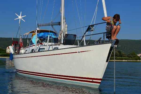 Najad 380 Najad 380 moored in Venice
