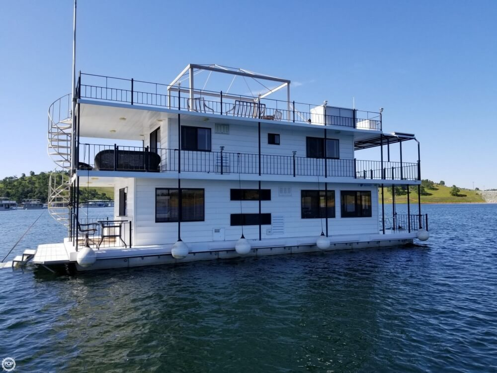 Custom-Craft 20 x 54 Lake McClure 2-story Houseboat 2006 Custom 54 for sale in La Grange, CA