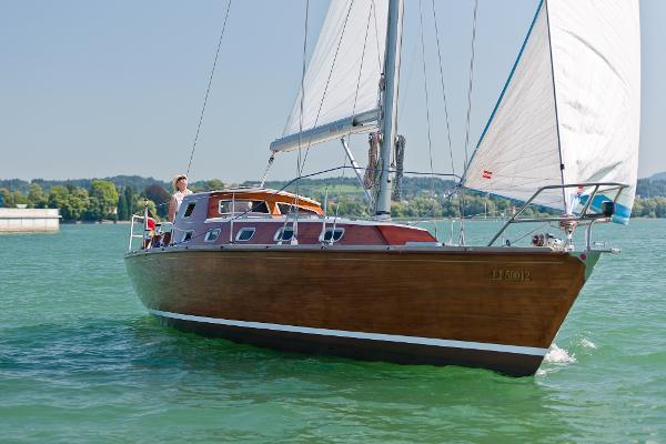 "Custom Biatel MR 37 Holz-Segelyacht Biatel 37 ""SEEBÄR II"" 1"