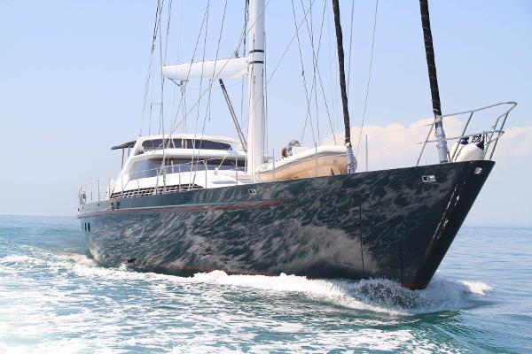 Dubois Naval Architects Custom aluminum 125 Ft sloop Dubois Naval Architects Custom aluminum 125 Ft