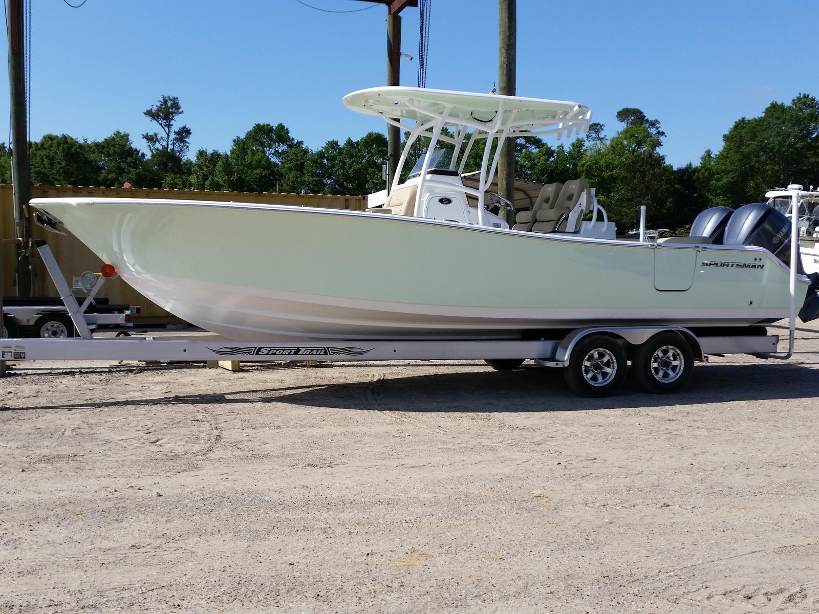 Sportsman Boats Open 282 TE