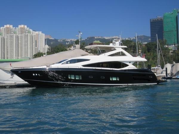 Sunseeker 88 Motor Yacht Profile