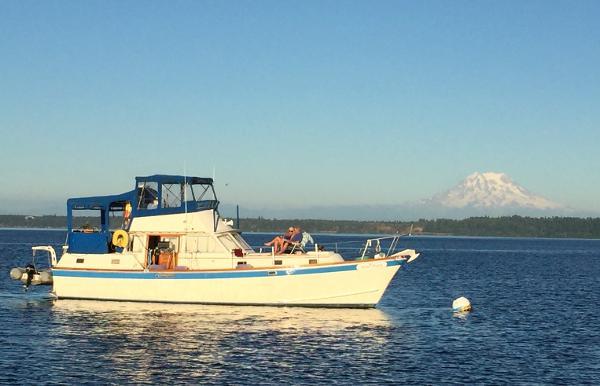 Gulfstar 43 MKII Trawler