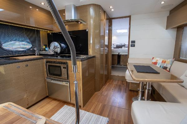 Princess V48 - Saloon and Galley