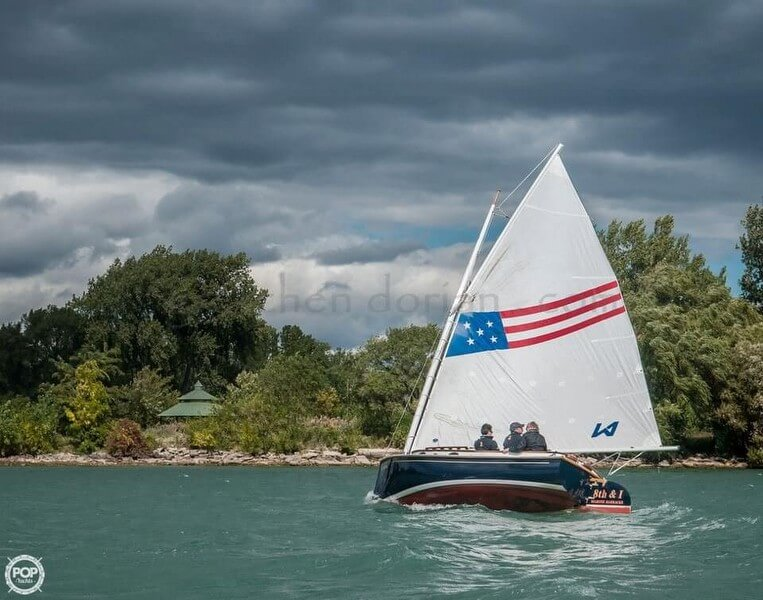 Herreshoff 18 America 1972 Herreshoff 18 America for sale in Detroit, MI
