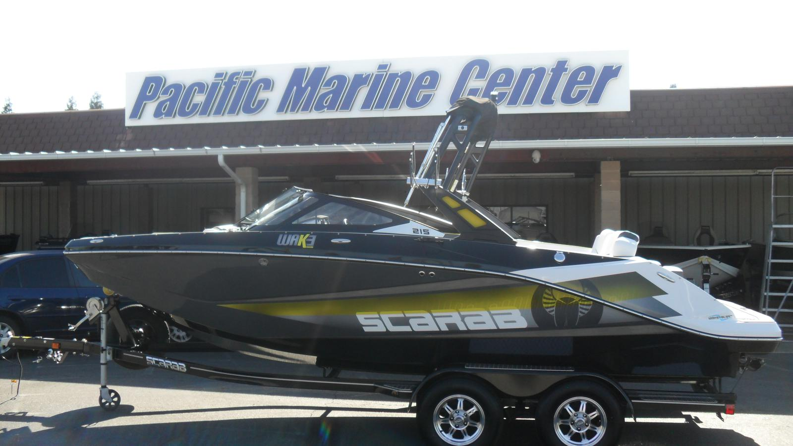 Scarab 215 HO Impulse - 500hp!