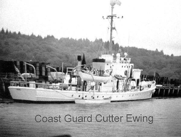 Custom USCG Steel Cutter Historical Photo - Dockside