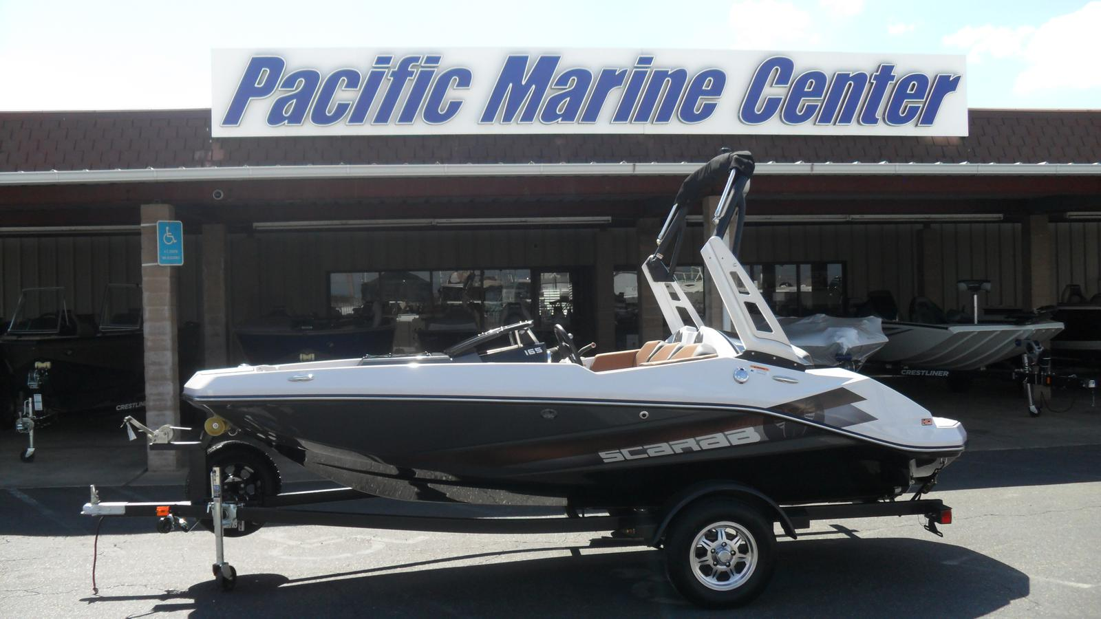 Scarab 165 HO Impulse - with a 250hp Rotax