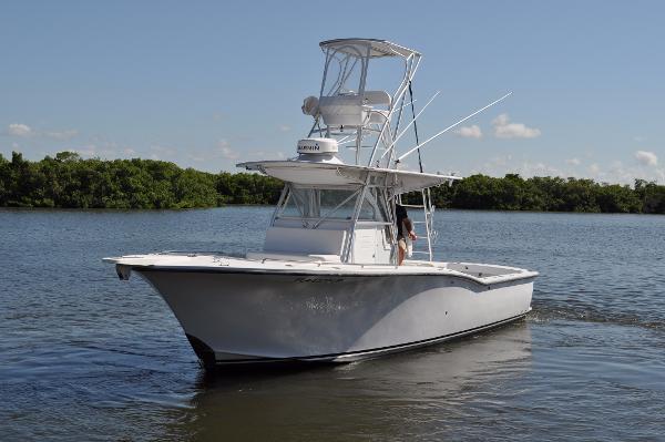 Ocean Master 34 Port Side