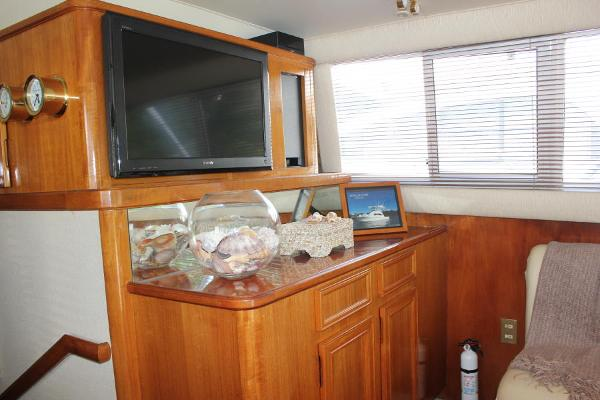 Starboard entertainment area