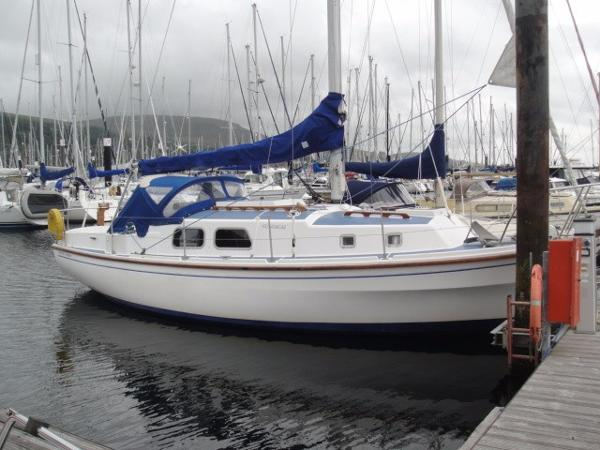 Westerly Longbow At Berth