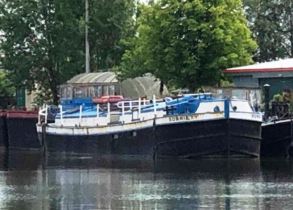 Barge Converted Steel Canal Boat Sobriety