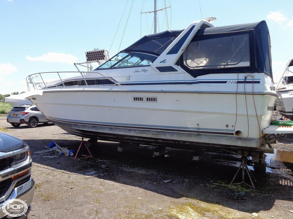Sea Ray 340 Express Cruiser 1988 Sea Ray 340 for sale in Rochester, NY