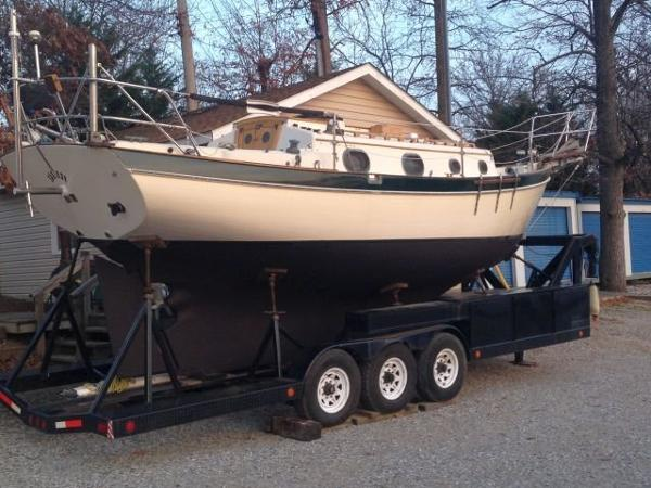 Pacific Seacraft Orion 27 MKI WITH TRAILER Pacific Seacraft 27 Saiorse