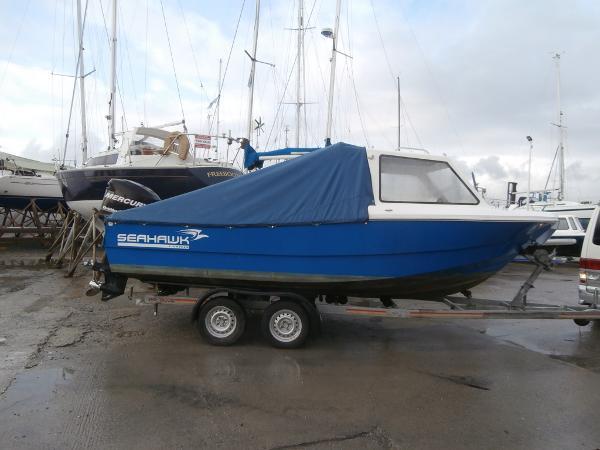 Seahawk Fastcatch 18 Seahawk 18 on trailer
