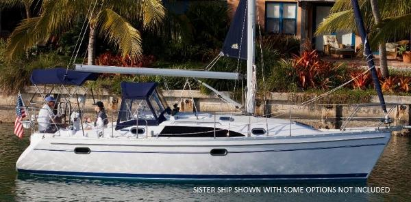 Catalina 315 (In Stock) Catalina 315 Sister Ship Shown with some options not included