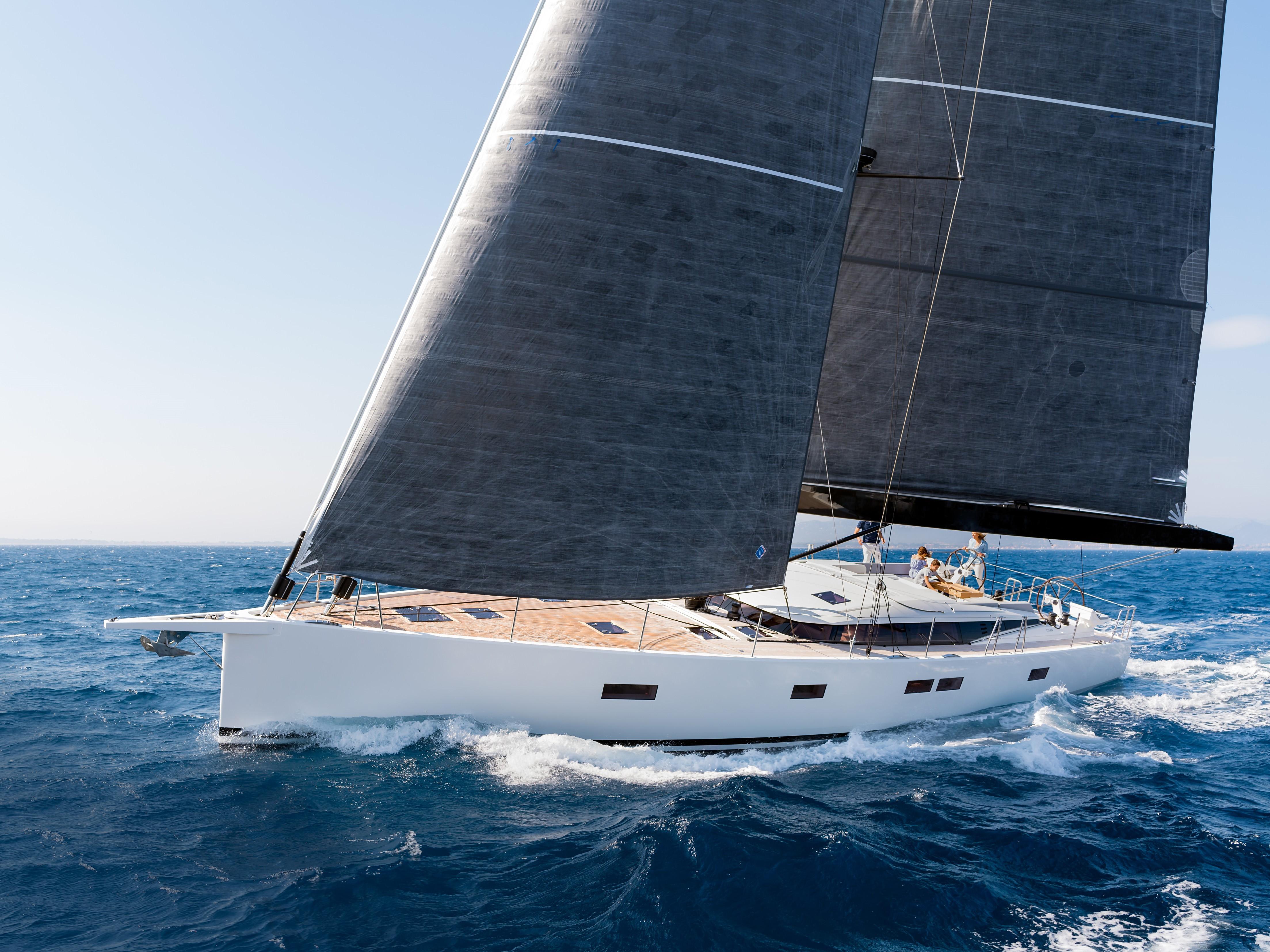 CNB 66 CNB 66 sailing