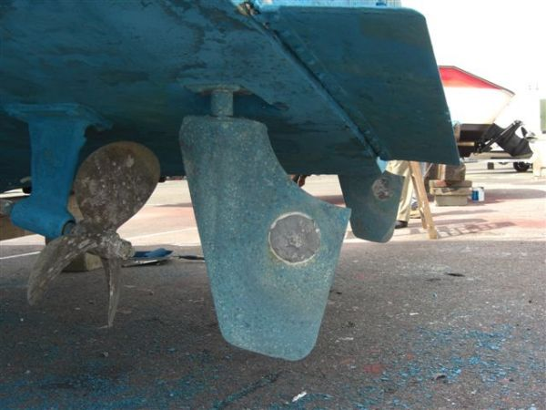 Screws and Rudder