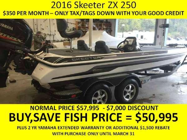 Skeeter ZX 250