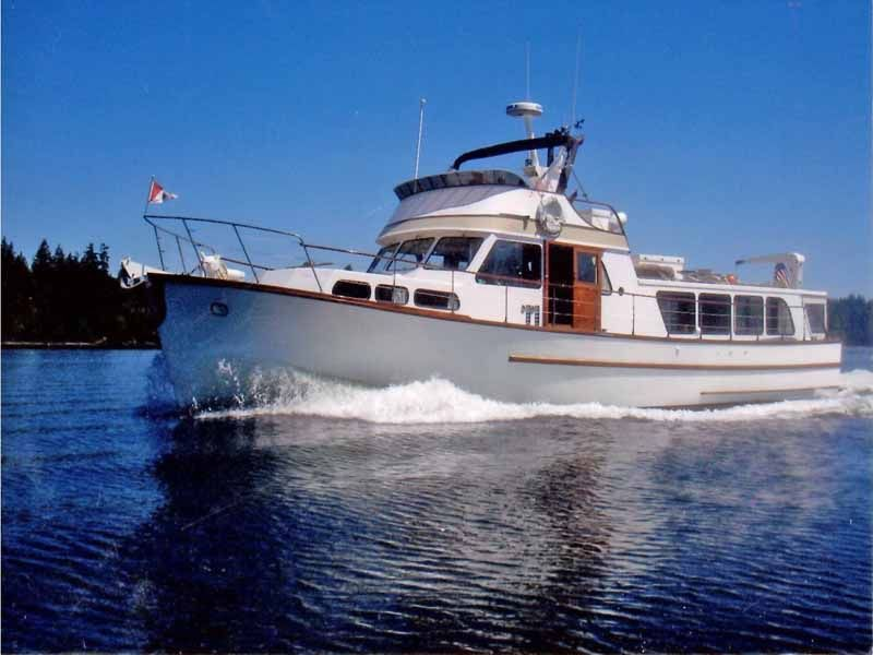 Nordlund 52 Pilothouse Trawler