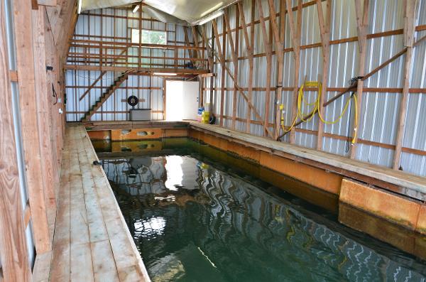 Boat House Canoe Cove Marina