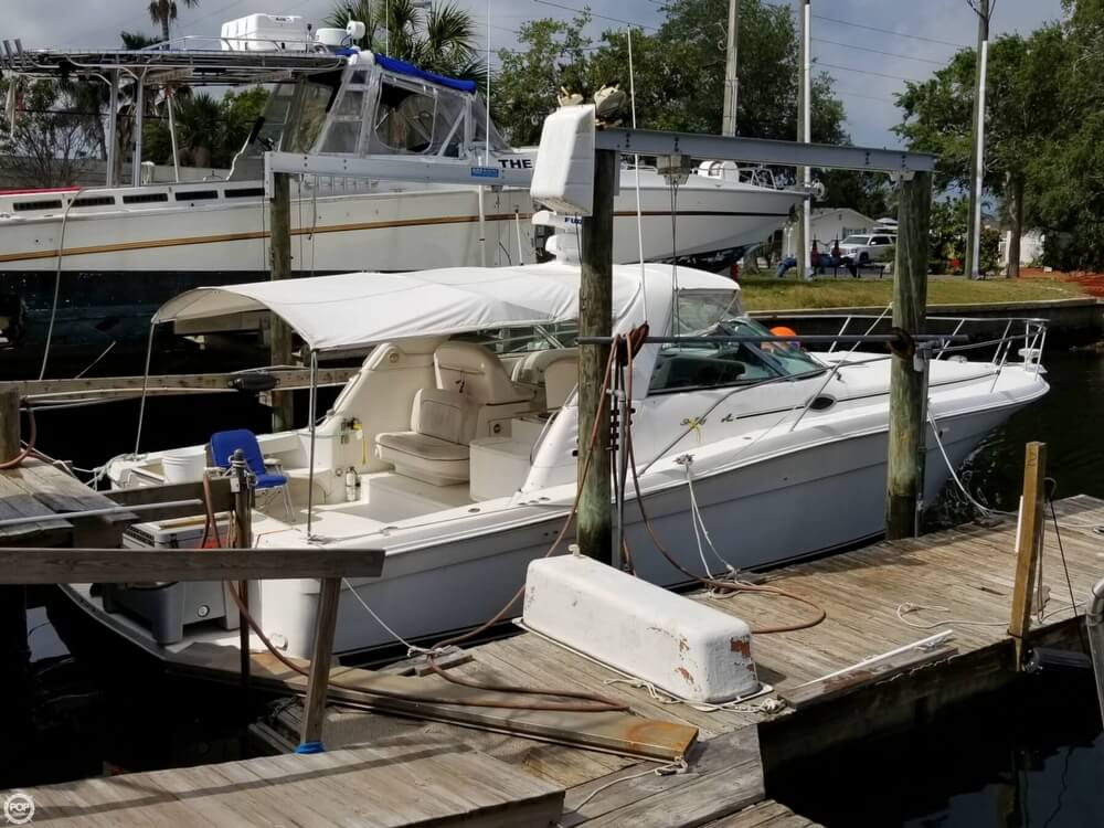Sea Ray 370 Express Cruiser 1997 Sea Ray 37 for sale in Hudson, FL