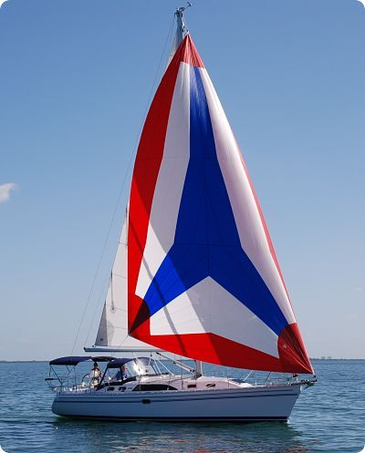 Catalina 385 # 71 In Stock A Catalina 385 Under Sail