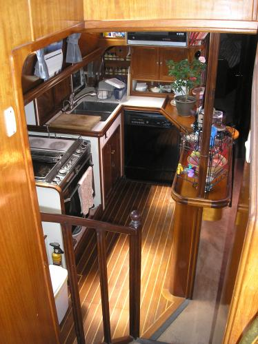 Galley from Pilot House
