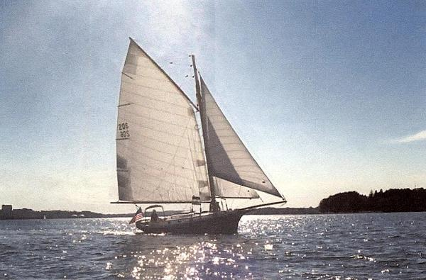 Jarvis Newman Friendship Sloop