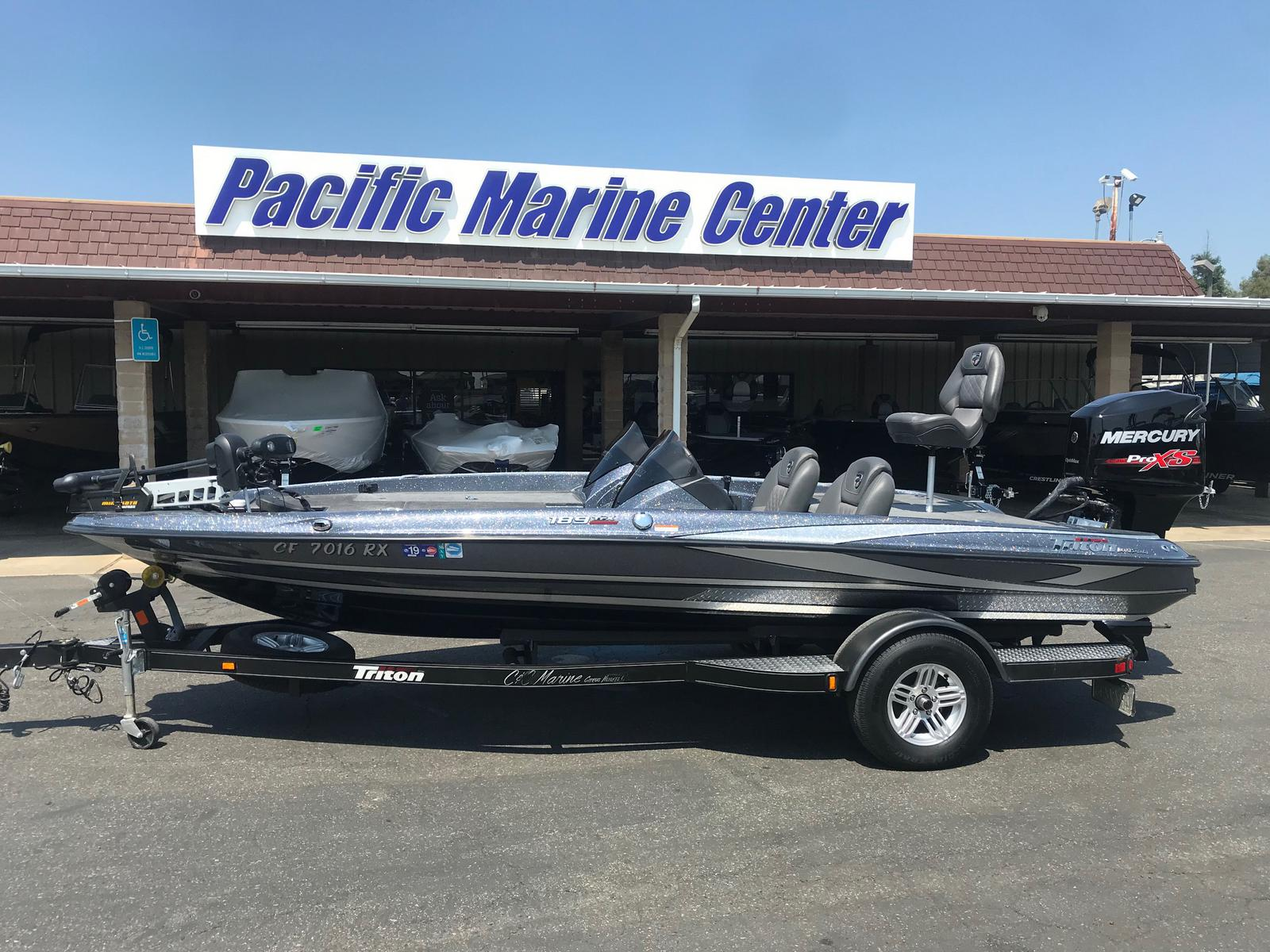 Triton 189 TrX DC w/ 150HP Mercury Optimax!