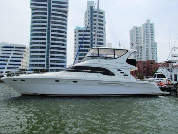searay 56 sedan bridge