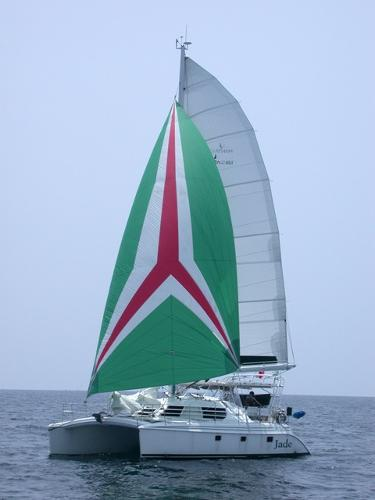 Manta 42 MK II Sail Catamaran Jade