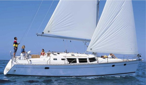 Jeanneau Sun Odyssey 43 DS Sistership photo