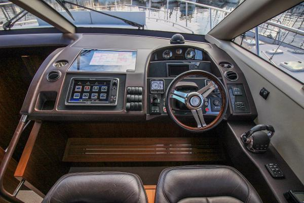Princess 56 Lower Helm Console