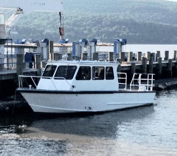 Aluminum Monark/Sea Ark Work Boat /500 hp