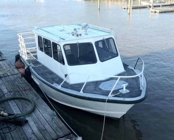 Monark Twin Screw Work Boat