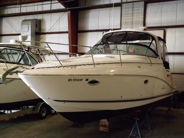 Rinker 330 Express Cruiser Inside Heated Stored