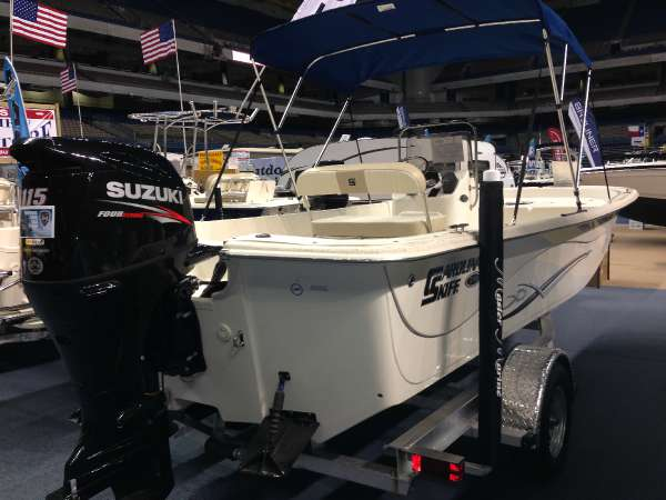 Carolina Skiff 218DLV